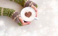 Zimowa randka bez filiżanki kawy