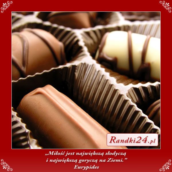 Miłość największą słodyczą...