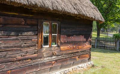 Stary dom w skansenie